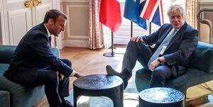 جانسون خشم پاریس را بر سر فسخ قرارداد زیردریایی به سخره گرفت
