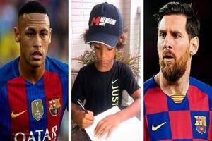 کودک 8 ساله آرژانتینی رکورد مسی و نیمار را شکست! + عکس
