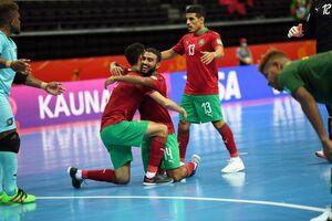 صعود تاریخی مراکش به یک چهارم نهایی جام جهانی فوتسال