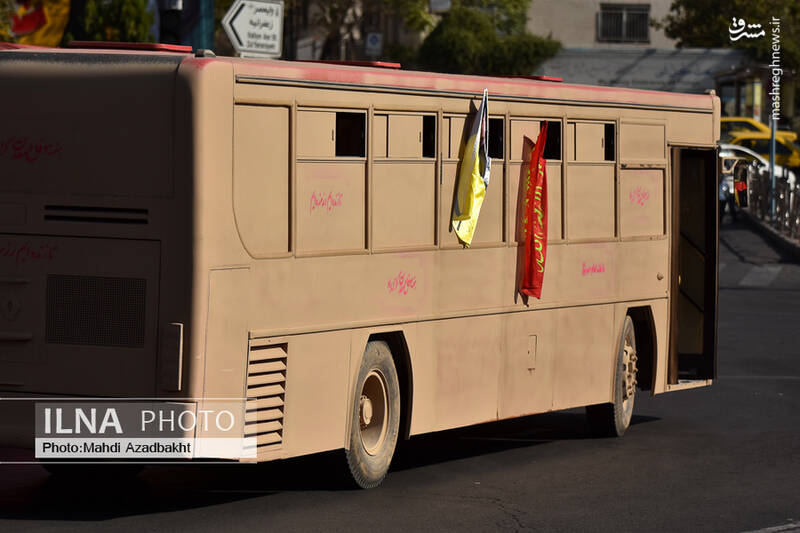 عکس/ اتوبوسهای دفاع مقدسیِ شهرداری