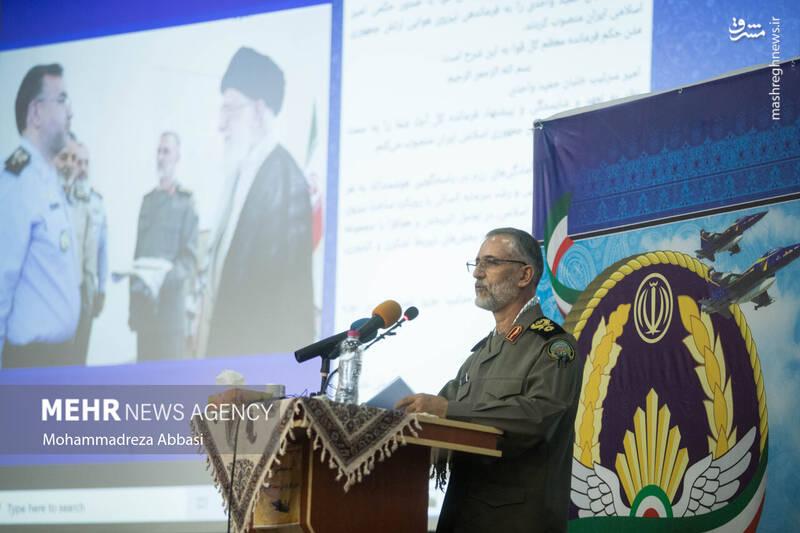 عکس/ معارفه فرمانده جدید نیروی هوایی