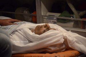 فیلم/ شهادت آزاده فلسطینی به دلیل اهمال پزشکی صهیونیستها