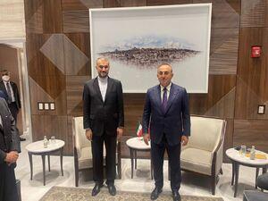 عکس/ دیدار وزیران خارجه ایران و ترکیه در نیویورک