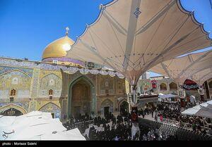 عکس/ حرم حضرت علی(ع) در آستانه اربعین