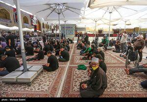حرم حضرت علی(ع) در آستانه اربعین حسینی