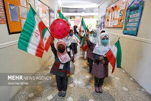 عکس/ شور و شوق کلاس اولیها در اولین روز مدرسه
