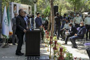 مراسم زنگ دانشآموز شهید با حضور زاکانی