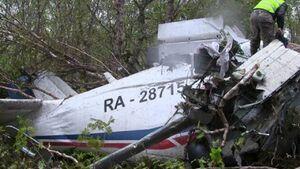 کشته شدن تمام ۶ سرنشین هواپیمای سقوط کرده روسی