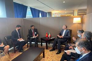تاکید امیرعبداللهیان بر راههای گسترش روابط تجاری ایران و قرقیزستان