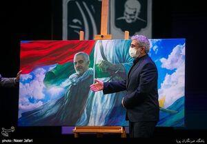 عکس/ سردار قاآنی در کنگره ملی شعر سردار سربداران