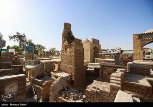 عکس/ بزرگترین قبرستان خاورمیانه
