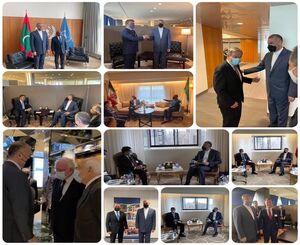 گزارش خطیبزاده از دیدارهای وزیر امور خارجه در نیویورک