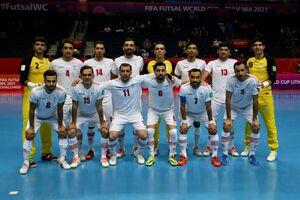 ترکیب تیم ملی فوتسال ایران مقابل ازبکستان مشخص شد