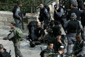 درگیری نظامیان صهیونیست با فلسطینیان/ شهادت یک فلسطینی