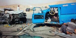 سانحه رانندگی در محور اهر-ورزقان با ۳ مصدوم و یک کشته