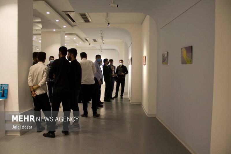 افتتاح نمایشگاه سراسری کاریکاتور حجاب و عفاف در سنندج