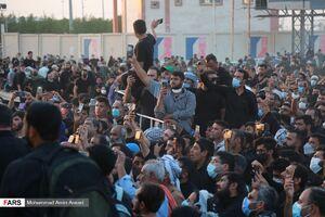 عکس/ حضور هزاران زائر در مرز شلمچه