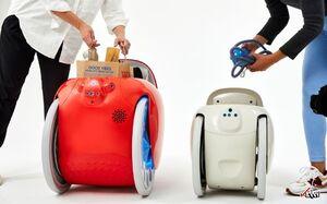 رباتی که بار را حمل میکند