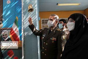 حضور وزیر دفاع در آیین آغاز سال تحصیلی جدید