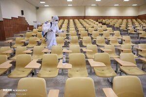 زمان کلاس دانشگاهها کوتاه شد/ممنوعیت حضور استاد و دانشجوی کرونایی