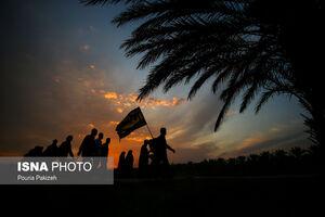 """انتقال آب از """"مهران"""" به پایانه برکت برای خدمت رسانی به زائران اربعین"""