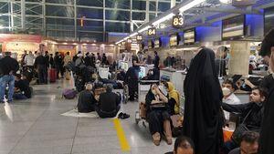 پایان تجمع زائران و شب خوابی در فرودگاه امام/ تسریع انجام پروازها