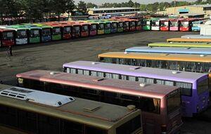 آماده باشناوگان اتوبوسرانی برای راهپیمایی اربعین در تهران