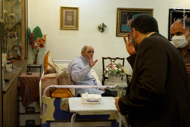 وزیر فرهنگ و ارشاد اسلامی به عیادت جمال شورجه رفت