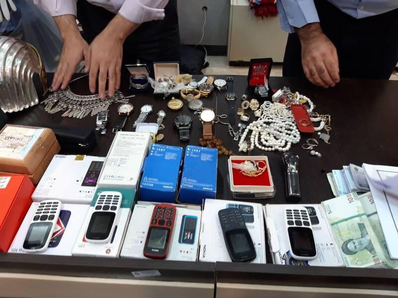 سارقان مسلح متواری بزرگراه همت دستگیر شدند +عکس