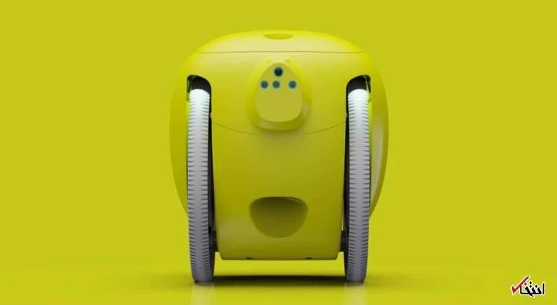 ربات هوشمندی که بارهای شما را حمل میکند +عکس