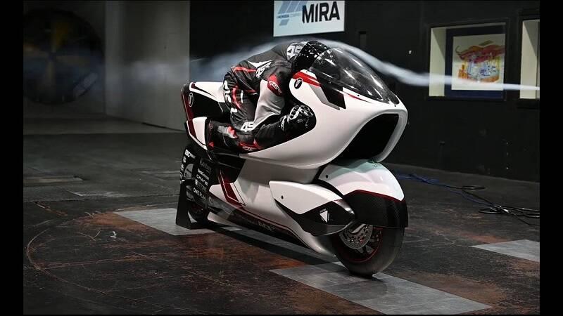 موتورسیکلت برقی ۳۳۵ اسب بخار +عکس