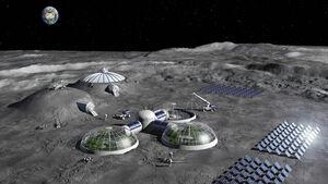 روشی جدید برای زنده ماندن در کره ماه