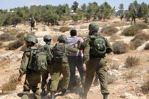 ربایش دو جوان فلسطینی بدست نیروهای ویژه ارتش صهیونیستی
