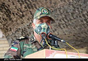 فرمانده قرارگاه منطقهای جنوب شرق ارتش: کوچکترین تهدید ایران را در کمترین زمان سرکوب میکنیم / اجازه هیچ تعرضی را به مرزها نمیدهیم