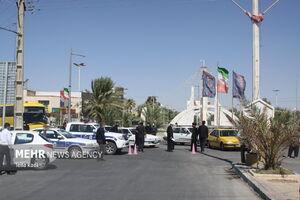عکس/ سرگردانی هزاران نفر در مرز مهران