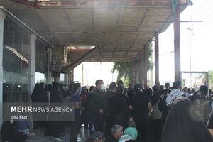 فیلم/ بازگرداندن زوار از مهران با ۳۵۰ دستگاه اتوبوس