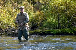 عکس/ ماهیگیری ولادیمیر پوتین