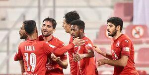 لیگ ستارگان قطر| مهرداد محمدی در ترکیب العربی مقابل قطر+عکس