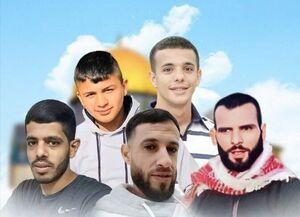 تاکید جهاد اسلامی بر انتقام گرفتن از شهادت ۵ فلسطینی در کرانه باختری