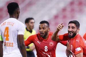 لیگ ستارگان قطر| پیروزی العربی در شب گلزنی مهرداد محمدی - کراپشده