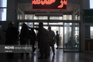 فیلم/ وضعیت پایانه مرزی مهران در شامگاه یکشنبه