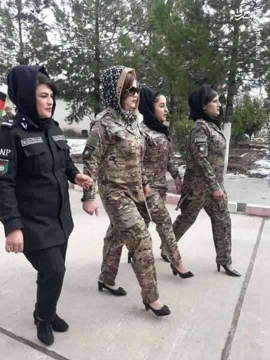 واقعا از این نظامیها انتظار ایستادگی داشتید تو افغانستان؟ +عکس