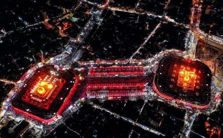 ثواب زیارت امام حسین(ع) از راه دور در شب اربعین حسینی