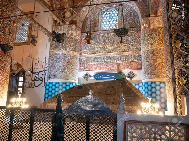 تصاویری از مقبره مولانا در شهر قونیه ترکیه