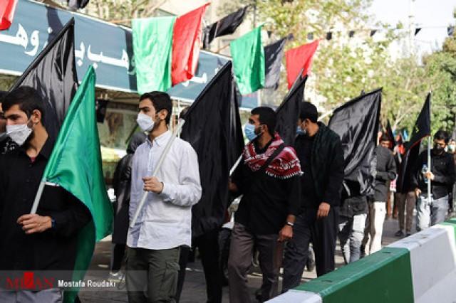 برپایی موکبهای تست PCR و واکسن در مسیر پیادهروی اربعین در تهران/ضریحهای حرم عبدالعظیم(ع) بسته است +عکس و فیلم