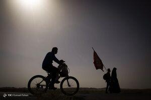 عکس/ پیادهروی جاماندگان اربعین در سمنان