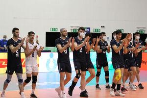 پیروزی جوانان والیبال ایران مقابل قهرمان آفریقا