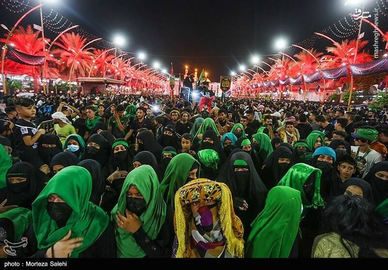 حال و هوای بین الحرمین در آستانه اربعین حسینی