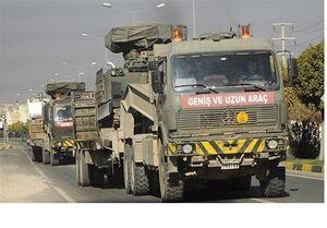 حرکت کاروان نظامی ترکیه به سوی شمال غرب سوریه