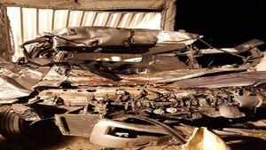 تصادف مرگبار در اتوبان قم _ کاشان +عکس
